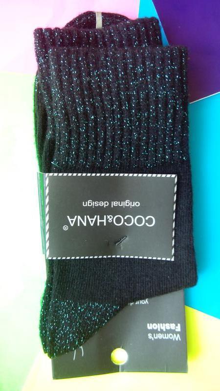 Носки женские ангора отличное качество оригинальный дизайн - Фото 4