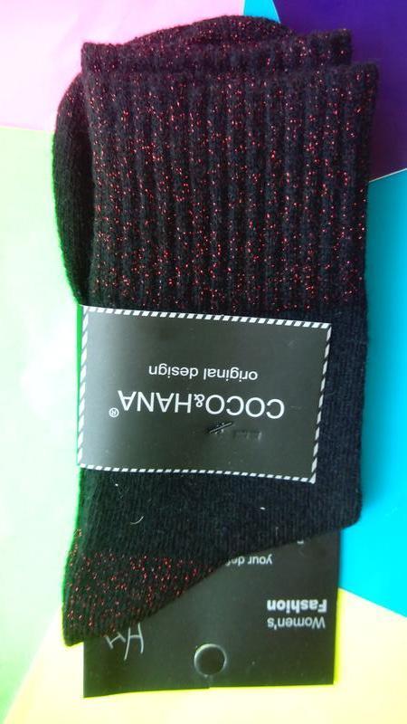 Носки женские ангора отличное качество оригинальный дизайн - Фото 5