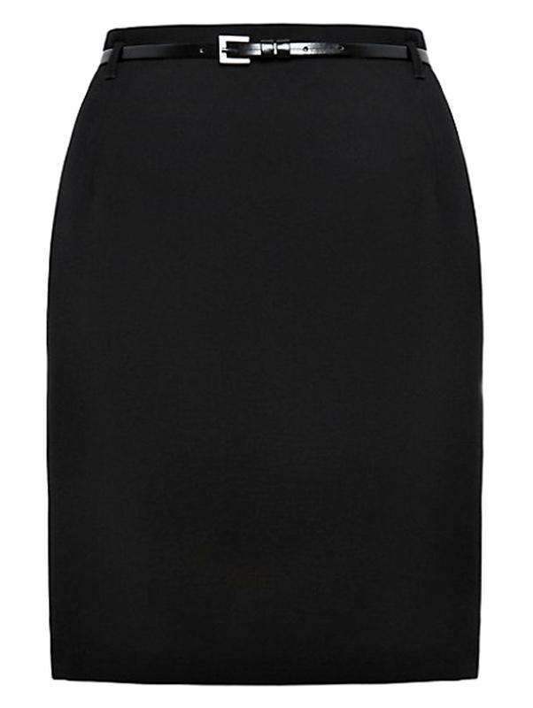 Распродажа! аккуратная юбка-карандаш с поясом р.14 - Фото 2