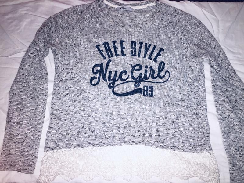 Пуловер свитшот - Фото 2