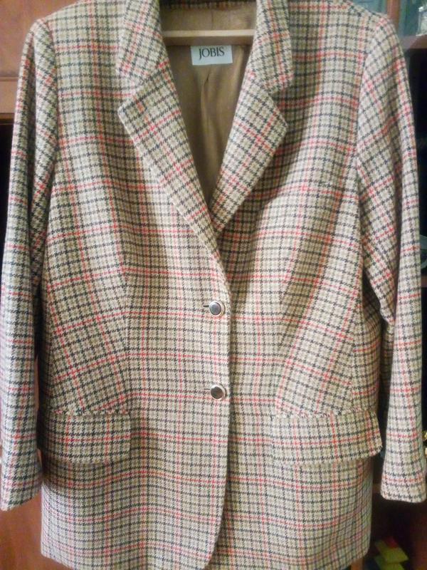 Трендовый шерстяной пиджак jodis