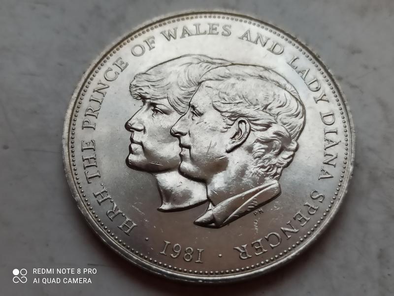 25 пенсов 1981 Великобритания