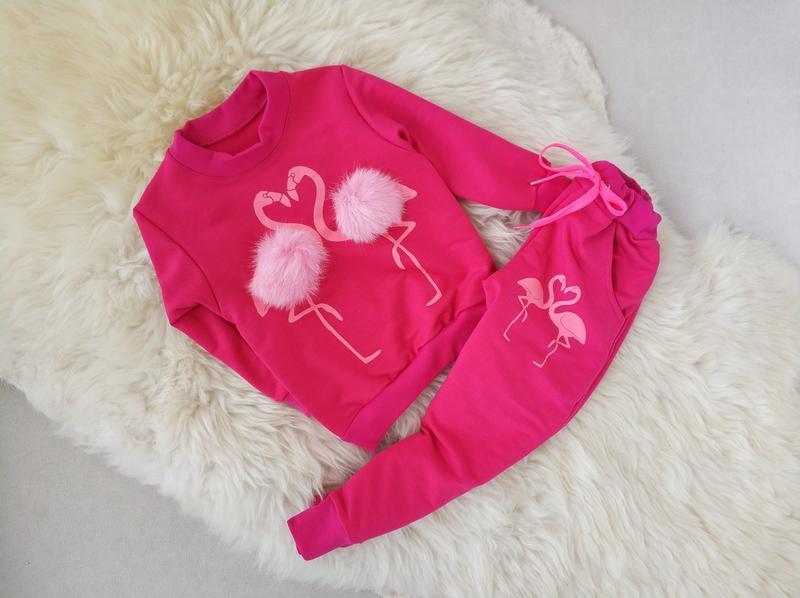 """✅ костюм для девочки """"фламинго"""""""
