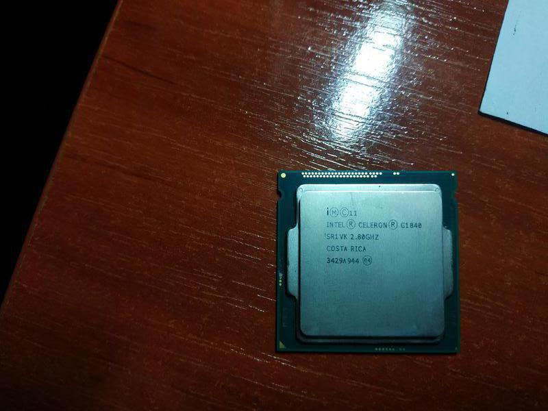 Процессор  Intel Celeron g1840 сокет 1150