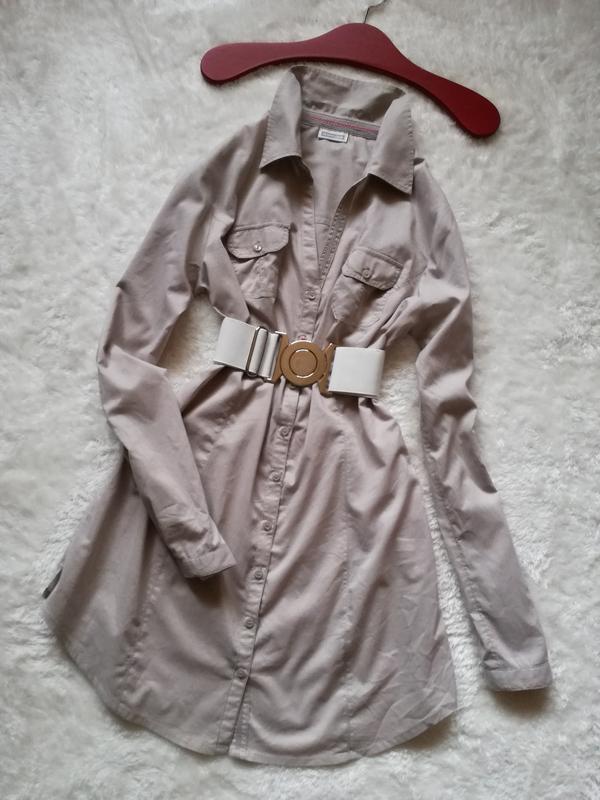 Платье-рубашка хлопок street one р.36-38