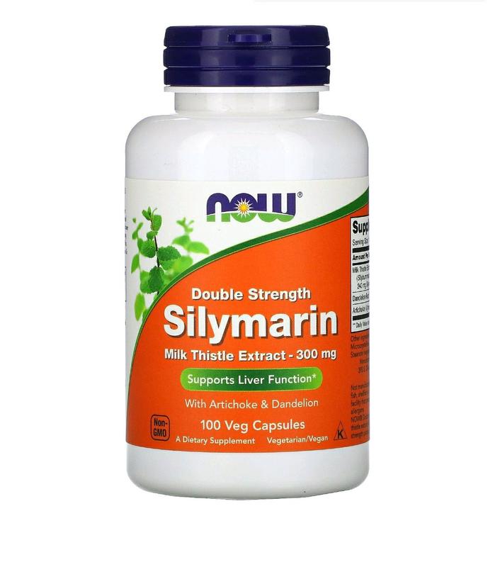 Расторопша Силимарин (Silymarin) 300 мг 50 капсул