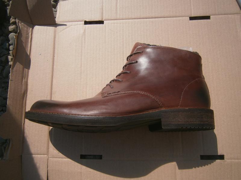 Ботинки ecco kenton plain toe boot оригінал натуральна кожа