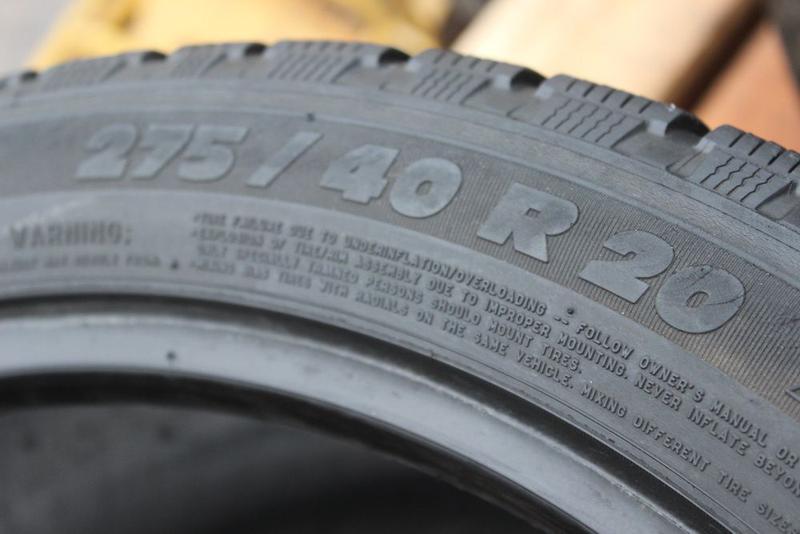 275-40-R20 зимняя резина 2 шины MICHELIN PILOT ALPIN Germany - Фото 2