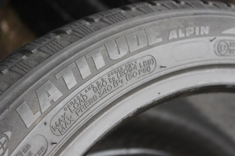 275-40-R20 зимняя резина 2 шины MICHELIN PILOT ALPIN Germany - Фото 3