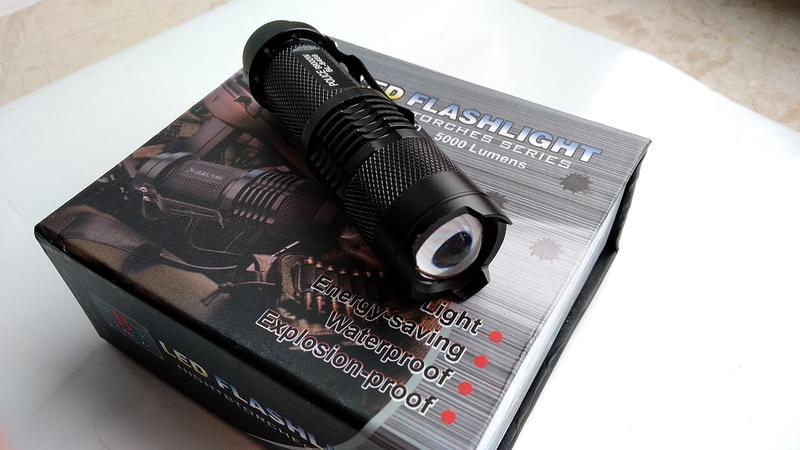 Ручной фонарь Police BL-8468 XPE (комплект)