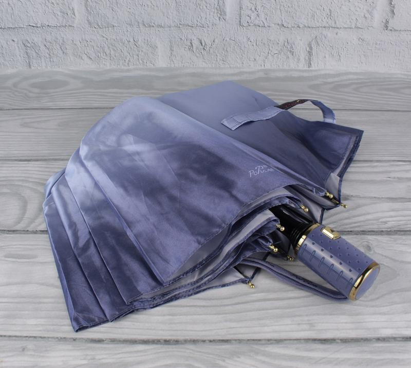 Красивый качественный складной зонт полуавтомат popular 423-6р...