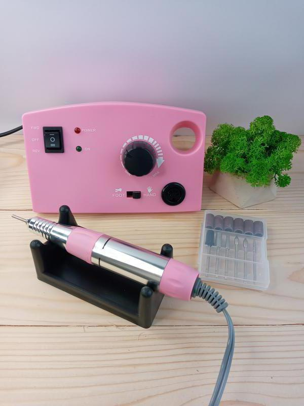 Профессиональный фрезер Фрезер DM-211 (30000 оборотов) розовый