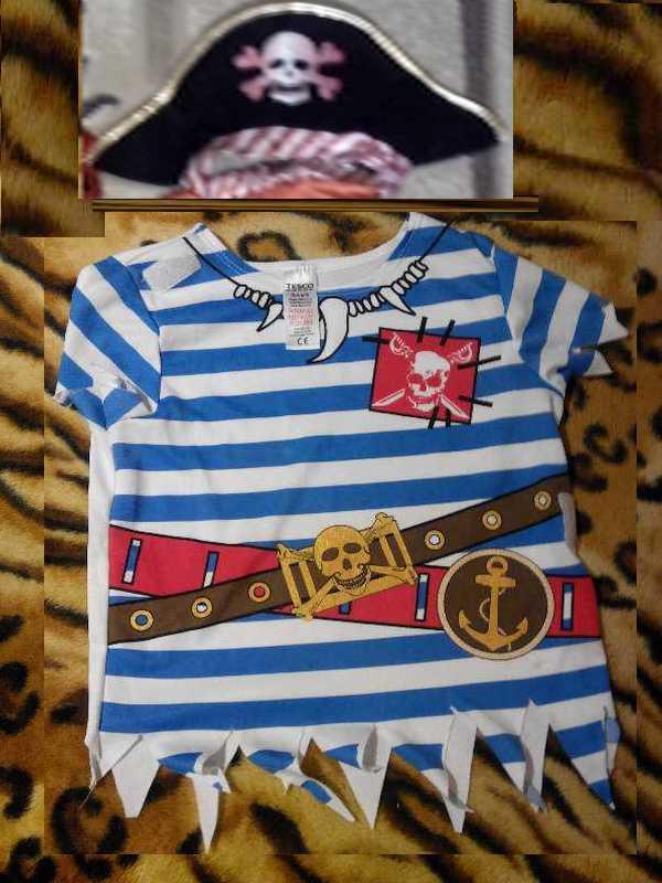 Карнавальный костюм Пиратик мальчику 3 - 4 года