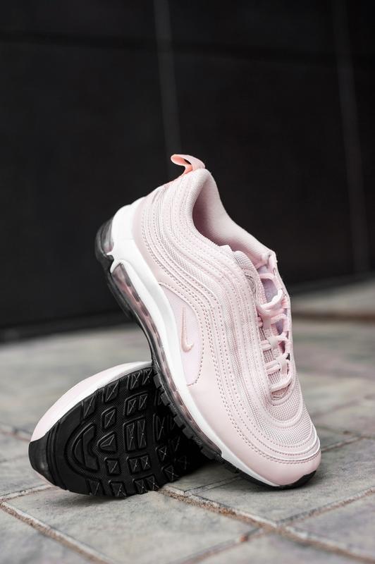 Женские розовые кроссовки nike air max 97 - Фото 2