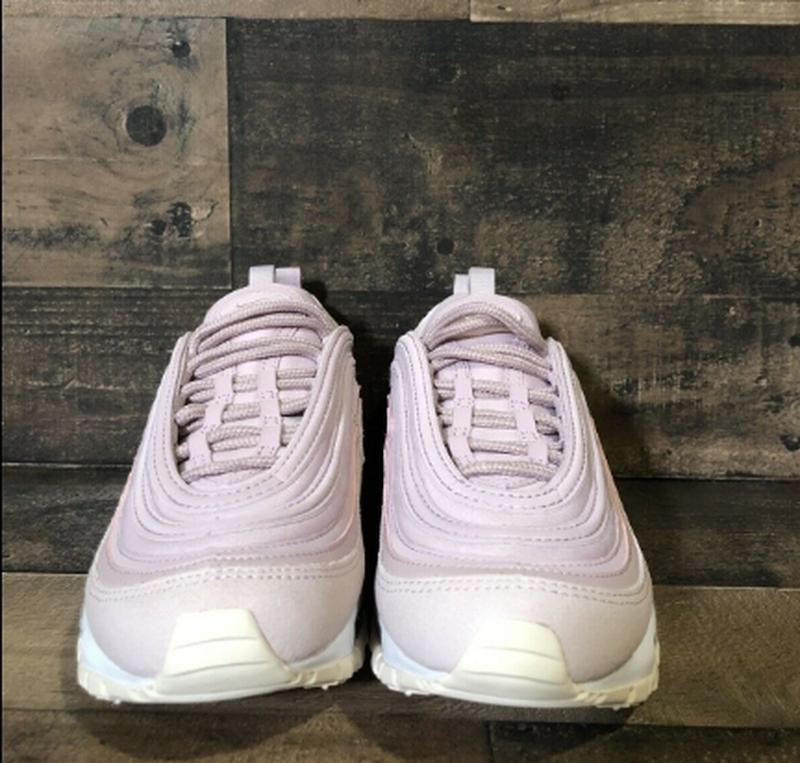 Женские розовые кроссовки nike air max 97 - Фото 9