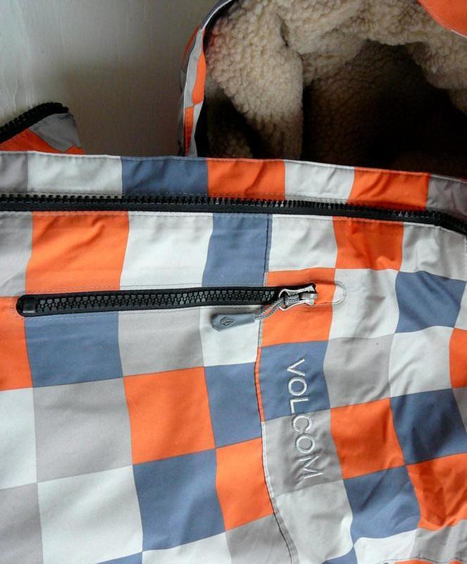 Куртка Volcom. Мужская зимняя горнолыжная куртка. GORE-TEX XC (L) - Фото 5