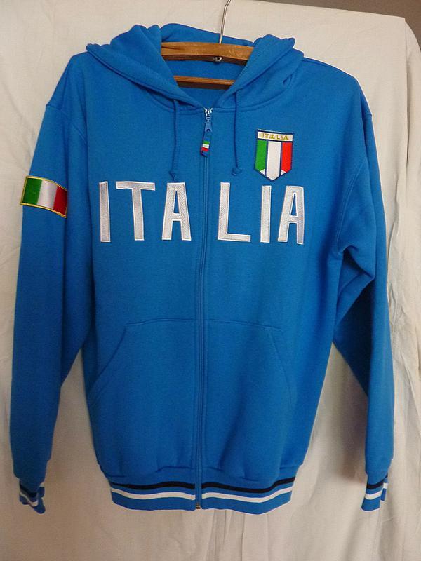 Толстовка, олимпийка Italia.