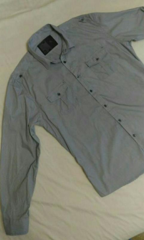 Рубашка urban spirit с длинным рукавом, р.xl