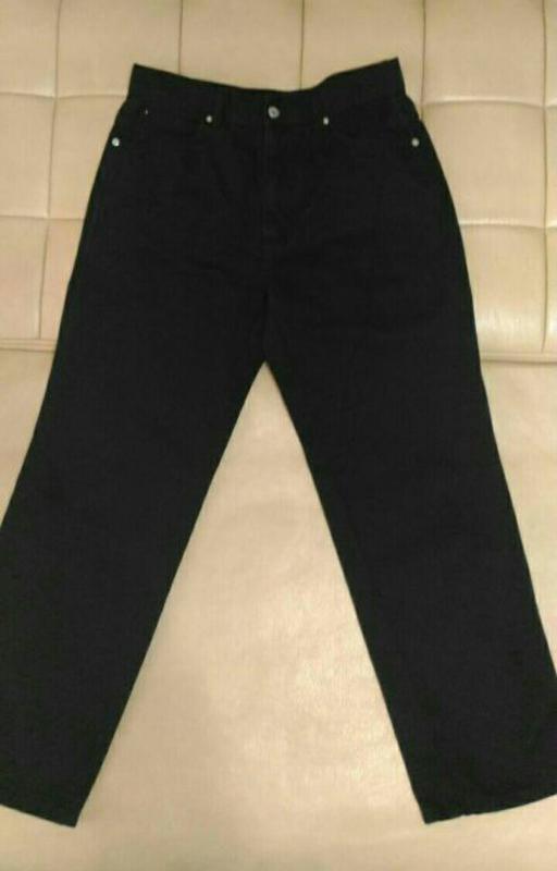 Джинсы чёрного цвета carnaby,  размер 33/30