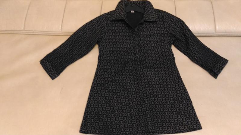 Платье с принтом шанель, 5-6лет