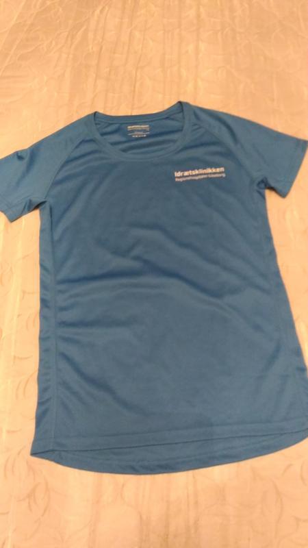 Спортивная футболка , цвет ультрамарин, р.l