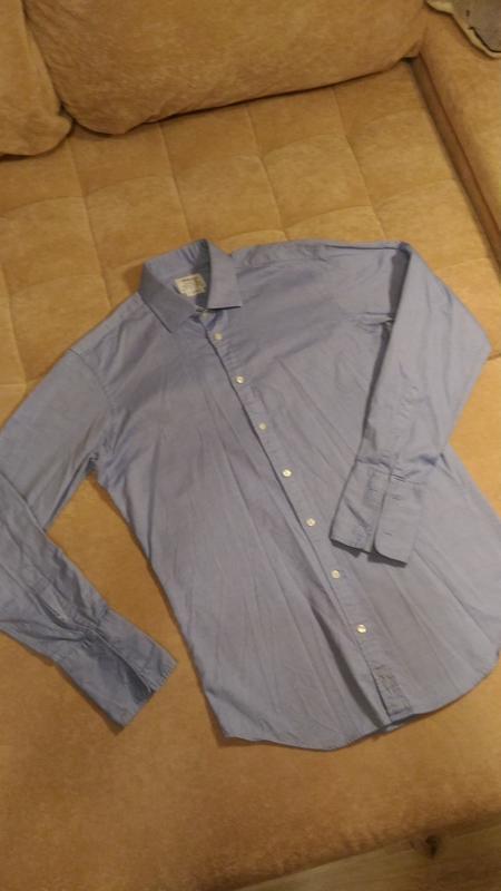 Рубашка под  джинс, р.48-50, высокий рост