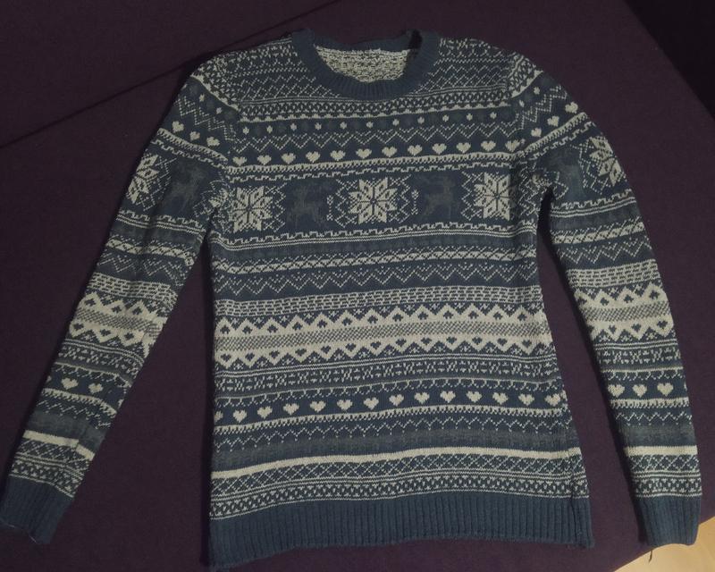 Мужской свитер 46 размер