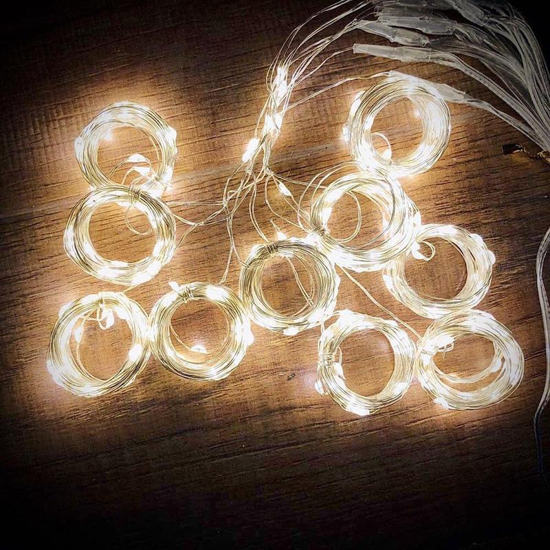 Светодиодная гирлянда штора 3м*3м 300 LED Водопад Светлячков USB - Фото 5