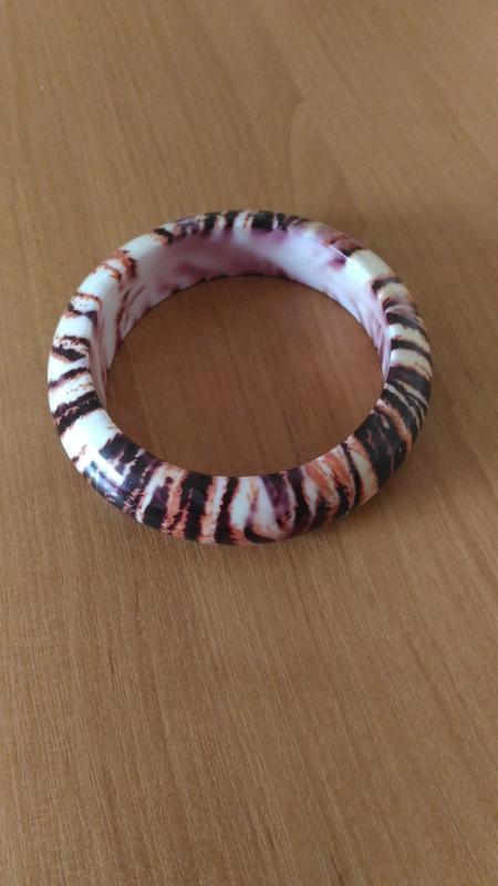 Оригинальный  браслет в терракотовых тонах