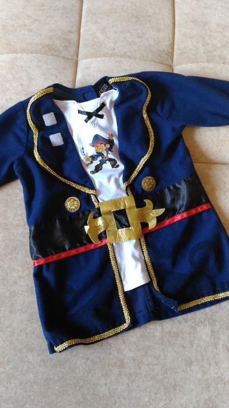 Карнавальный костюм пирата, 1-2года, кофточка
