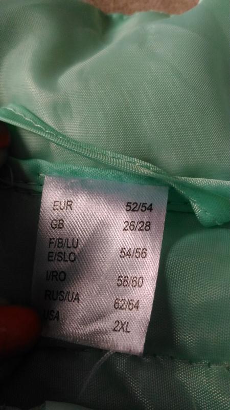 Лёгкая демисезонная куртка нежного ментолового цвета, франция,... - Фото 8