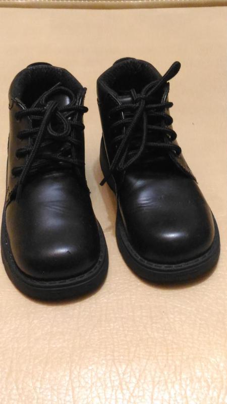 Ботинки чёрные, осень,р.32