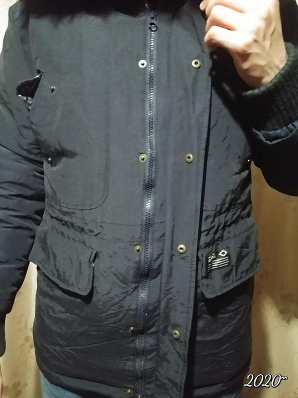 Зимний Пуховик BrownBreath оригинал. утка, теплый.Куртка/парка... - Фото 5