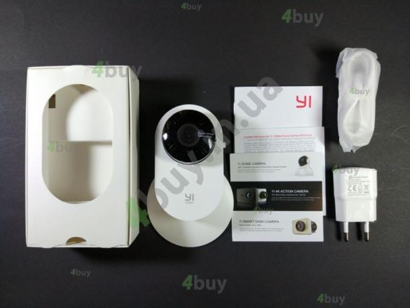 Видеоняня камера Xiaomi YI Home 1080 ночное видение двусторонн... - Фото 2