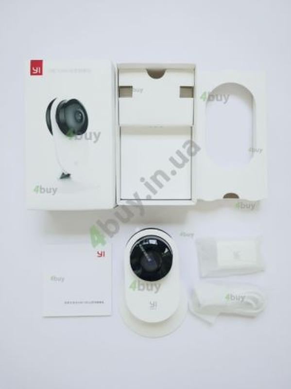 Видеоняня камера Xiaomi YI Home 1080 ночное видение двусторонн... - Фото 5