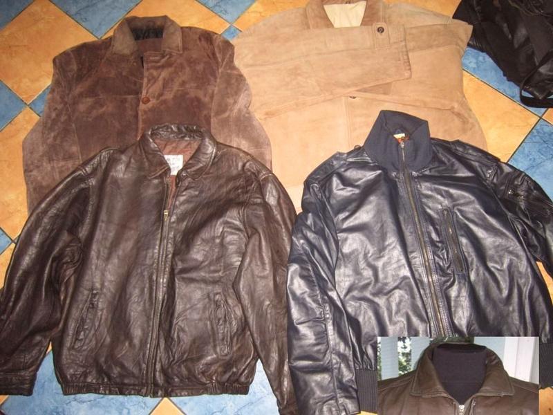 Мужские кожанные куртки. мегалот. 12 шт. одним лотом