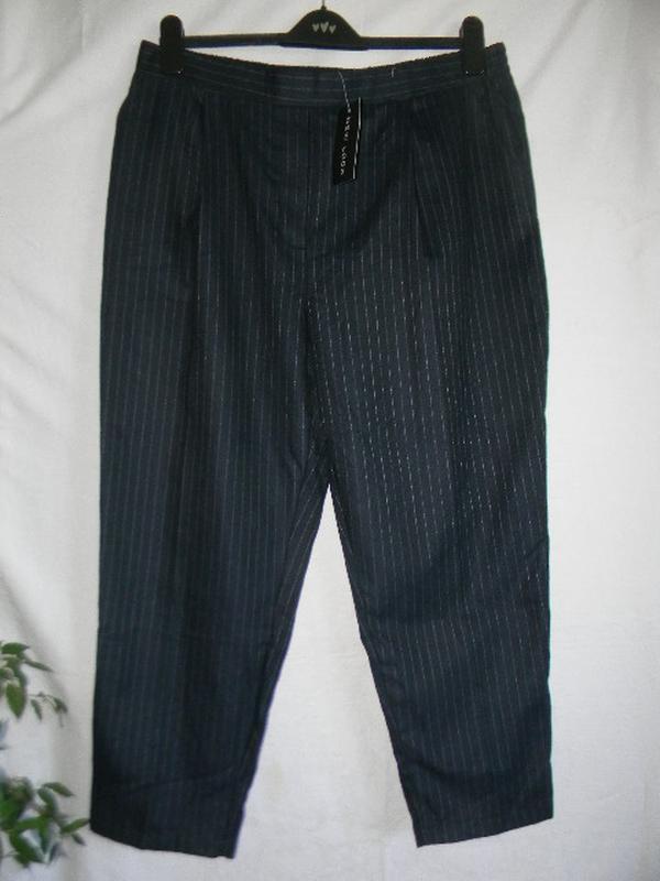 Новые осенние стильные брюки в полоску