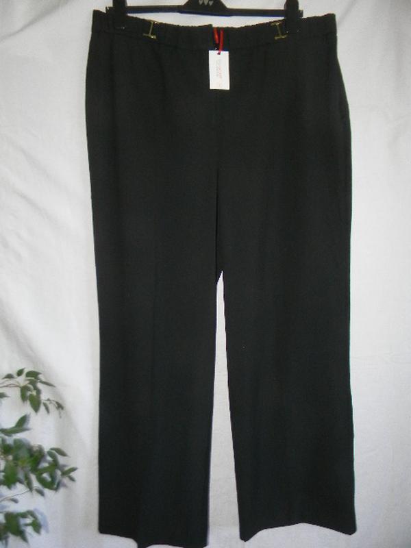 Новые черные брюки большого размера