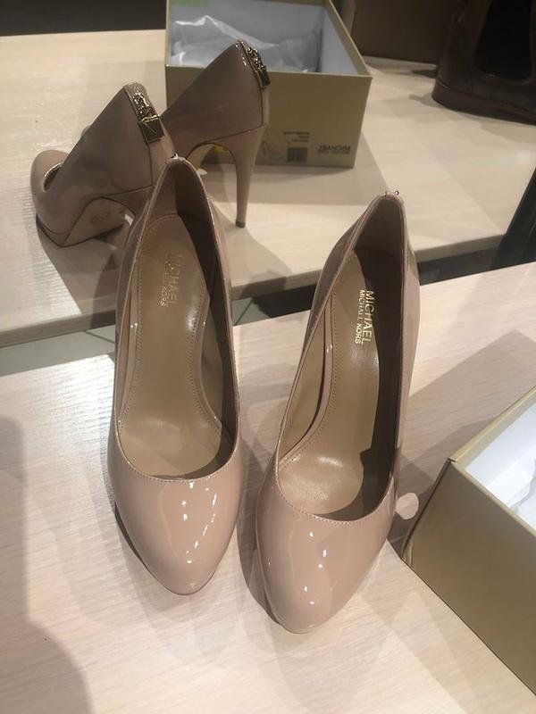 Пудровые туфли michael michael kors - Фото 3