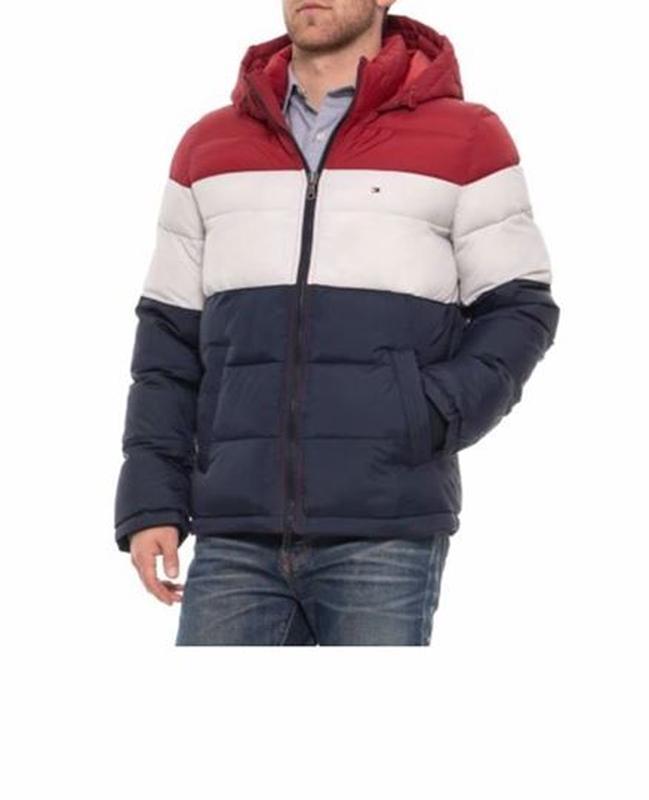 Мужская тёплая куртка от  tommy hilfiger. размеры l /xl/xxl