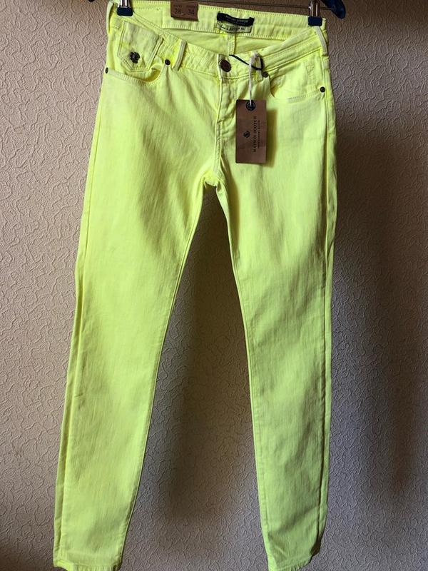 Яркие джинсы maison scotch .оригинал - Фото 3