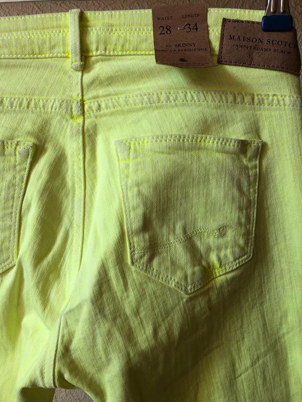 Яркие джинсы maison scotch .оригинал - Фото 6