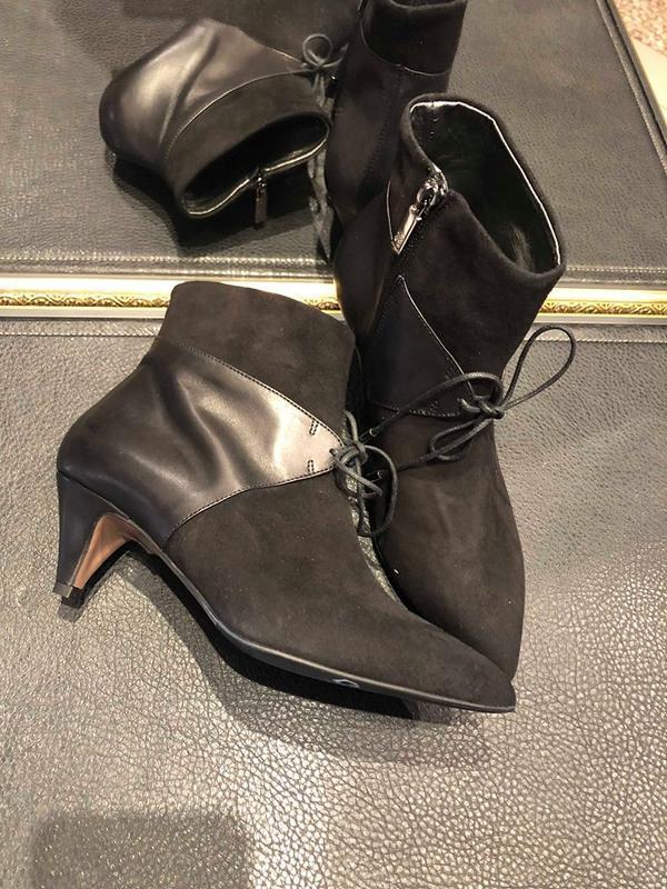 Классические ботинки от navyboot.(швейцария) размер 37