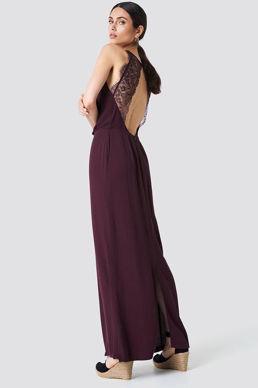 Платье макси длинное  от samsøe & samsøe