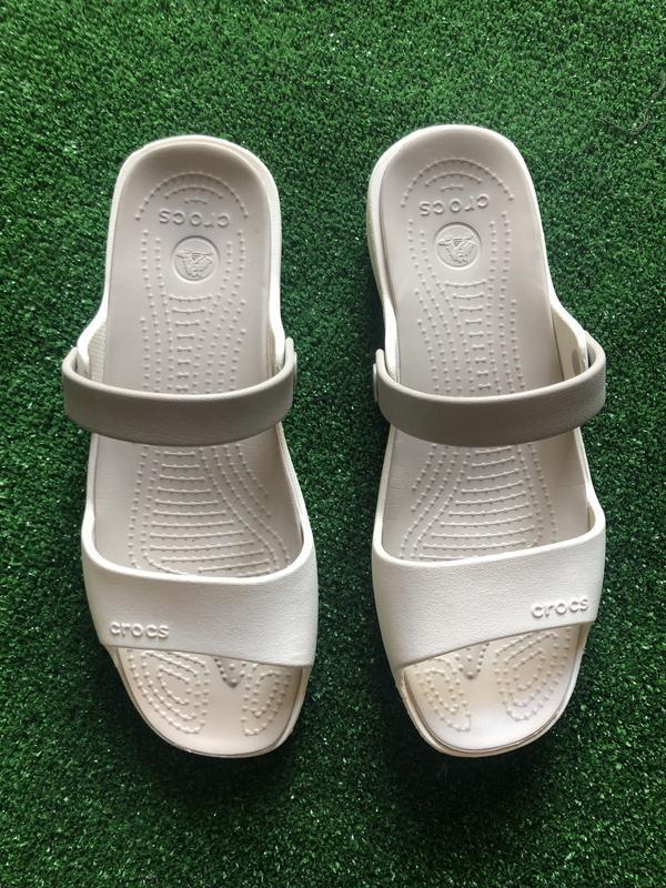 Шлепки, босоножки, мюли   crocs ™ . размер w 9 ( 39-40) -оригинал - Фото 9