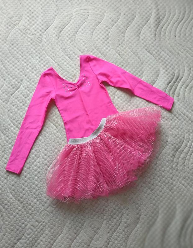 Комплект трико+юбка на 5-6 лет