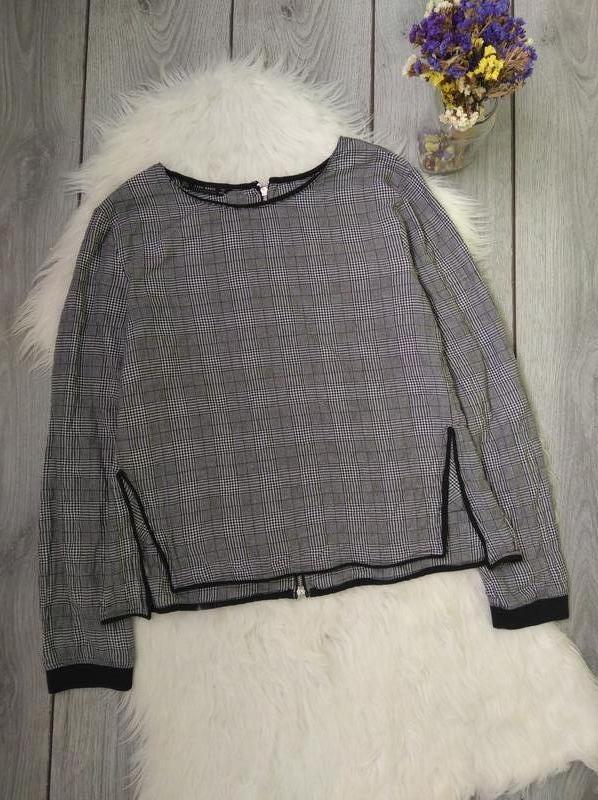 🔥акция 1+1=3🔥zara блузка стильная модная l