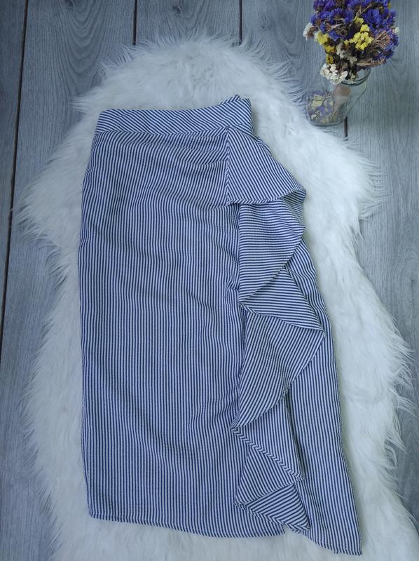 🔥акция 1+1=3🔥topshop шикарная юбка на высокой посадке модная с...