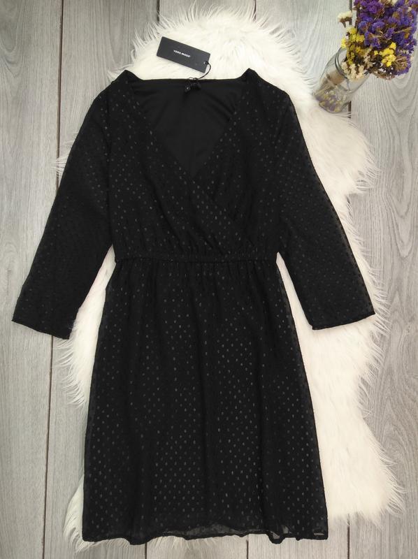 🔥акция 1+1=3🔥vero moda новое платье модное чёрное
