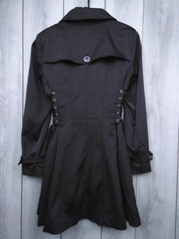 🔥акция 1+1=3🔥jacqueline riu пальто демисезонное стильное сбоку... - Фото 3